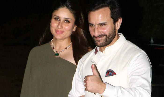 Kareena Kapoor and actor husband Saif Ali Khan