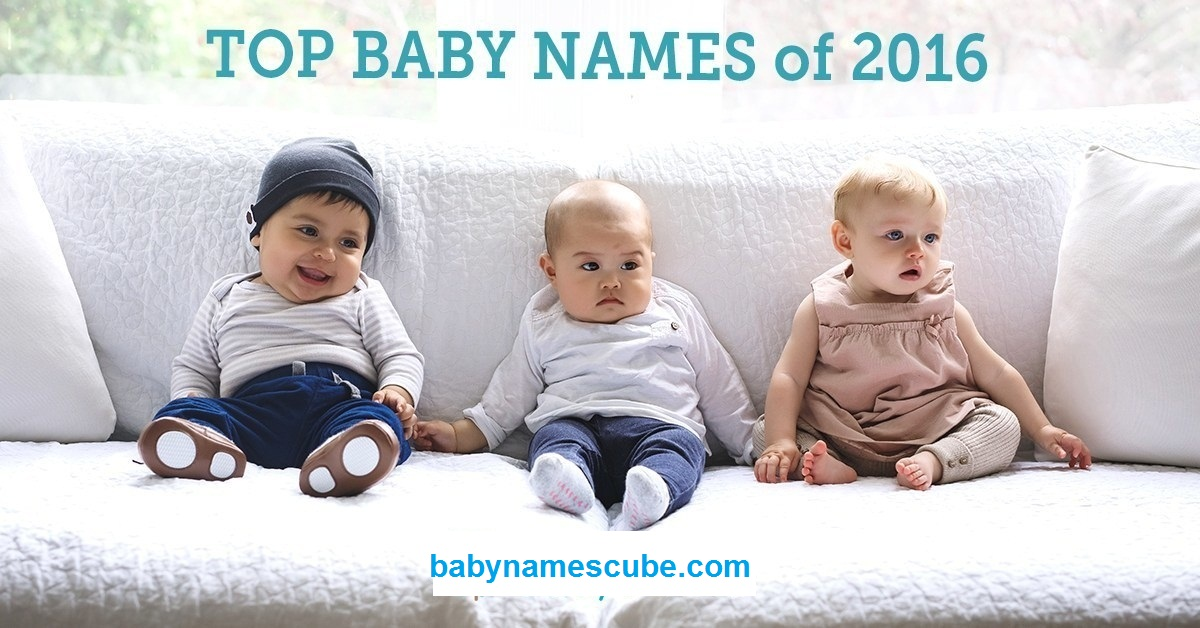 popular baby names 2016 in Netherland