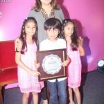 Anya, Diva and Czar : Parents - Farah Khan & Shirish Kunder. Meaning: Grace, Divine & Emperor