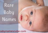 Rare Baby Names Babynamescube.com