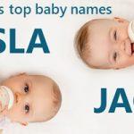 scotland top baby names 2020 Isla